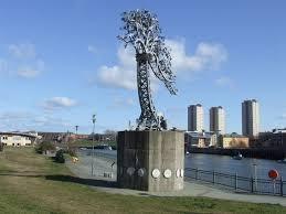 the iron tree sunderland malc mcdonald geograph britain and