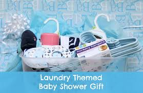 baby basket gift laundry themed baby shower gift basket the inspired hive