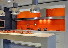 orange kitchen ideas bold orange color accents 25 bright and modern interior design ideas