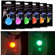 light for walking at night kwb dog cat pet collar light 6pcs waterproof led dog collar safety