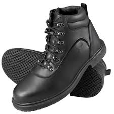 genuine grip 7130 men u0027s size 4 medium width black steel toe non