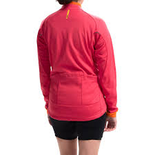 orange cycling jacket mavic aksium thermo cycling jacket for women save 64
