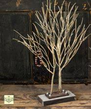 design display tree white finish 26 ornament trees
