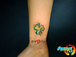 watercolor clover tattoo by haku psychose on deviantart