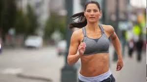 Jubralee Bra By Moving Comfort Rebound Racer Sports Bra By Moving Comfort Youtube