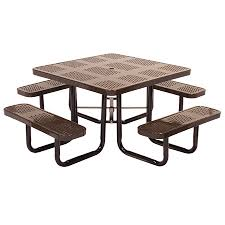 leisure craft picnic tables leisure craft inc 46 square perforated tables