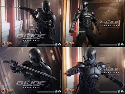 g i joe retaliation 1 6th scale snake eyes collectible figure