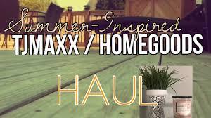 Summer Home Decor Tjmaxx Homegoods Summer Home Decor Haul Staging Summer