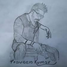 this is my drawing of surya suryasivakumar surya anjaan