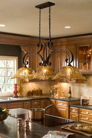 kitchen brass and glass mini pendant lights island light