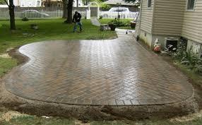 Lowes Pavers Patio by Patio Ideas Step Stones Lowes Large Format Concrete Pavers Brick