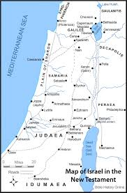 Blank Map Of Middle East by Map Of Israel In The Time Of Jesus Christ With Roads Bible