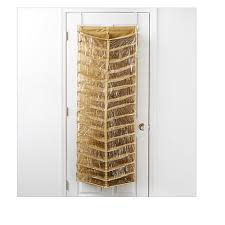 shoe organizer storesmith over the door 30 slot shoe organizer 8522545 hsn