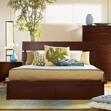 popularity of wooden platform bed bedroom ideas