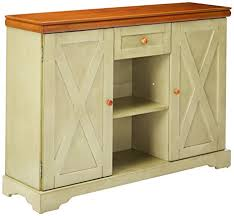 Antique White Console Table Amazon Com Kings Brand Furniture Wood Buffet Cabinet Console
