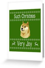 Doge Meme Christmas - doge meme such christmas very joy ugly christmas sweater items