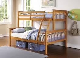 GFW Novaro Pine Wooden Trio Triple Sleeper Bunk Bed By GFW - Triple bunk bed wooden