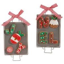 raz imports cookie sheet gingerbread ornament set