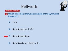 a a b b c c d d a distributive property b substitution property c