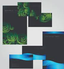 Brochures And Business Cards Business Cards And Brochure Covers Design Vector 04 Vector Card
