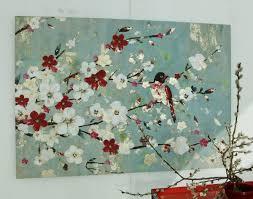 Peinture Cerisier Japonais by Tableau Branche De Cerisier Asianstyle Tableau Becquet Japon