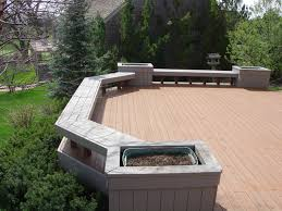 Deck Railing Planter Box Plans by Bench Build A Deck Bench Deck Bench Plans Howtospecialist How To