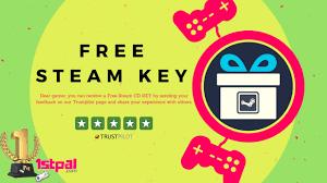 free steam cd key sending feedback 1stpal