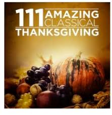 thanksgiving mp3 album 111 classical songs 99