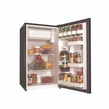 frigidaire glass door fridge haier 3 3 cu ft compact refrigerator black hc33sw20rb walmart com