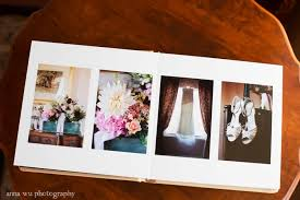 Leather Bound Wedding Album Anna Wu Photography San Francisco Wedding Photographer Fine