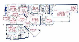 2500 sq ft floor plans mediterranean house plan 3 bedrooms 3 bath 2500 sq ft plan 71 521