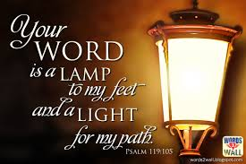 bible verse lamp unto my feet home blogar