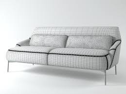 2 Seater Outdoor Sofa 3d 2 Seater Sofa Cgtrader
