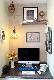 Small Space Office Desk Best 25 Office Nook Ideas On Pinterest Small Office Desk Within