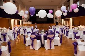 location salle mariage pas cher l effet déco violet et blanc fee de l effet mariage