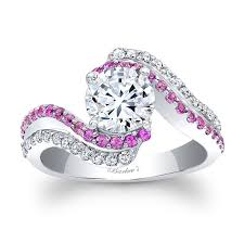 pink wedding rings pink sapphire engagement rings new wedding ideas trends