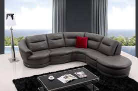 Modern Gray Leather Sofa by Living Room Gray Leather Sofa Paulina Grey Italian Leather