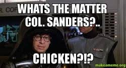 Colonel Sanders Memes - whats the matter col sanders chicken make a meme