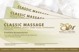 spa gift cards the spa wellness products