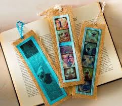 simple burlap diy bookmarks with photos mod podge rocks