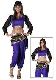 belly dancer costumes for halloween black u0026 purple belly dancer costume genie costumes