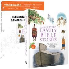 elementary bible u0026 english grammar curriculum pack