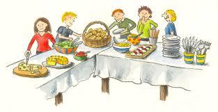 thanksgiving potluck invitation spring potluck cliparts cliparts zone