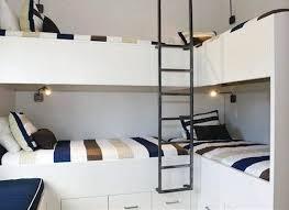 Modern White Bunk Beds - Modern bunk beds for kids