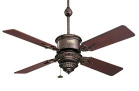 interior twin blade ceiling fans with bronze bracket and motor