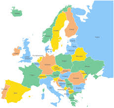 europ map germany europe map major tourist attractions maps