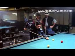 Academy Pool Table by Police Academy 6 Pool Cue Stick M M Ballbusting Scene Youtube