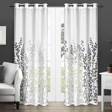 Butterfly Lace Curtains Floral Curtains U0026 Drapes Shop The Best Deals For Nov 2017