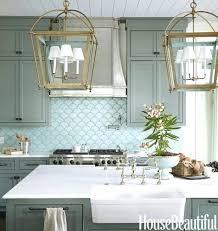 blue kitchen tile backsplash kitchen design blue fish scale kitchen tiles design size of