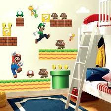 mario bedroom mario bedroom decorations super wall stickers for kids room home